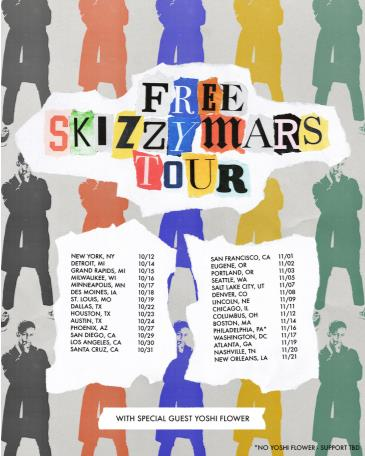 The Free Skizzy Mars Tour with Yoshi Flower: Main Image